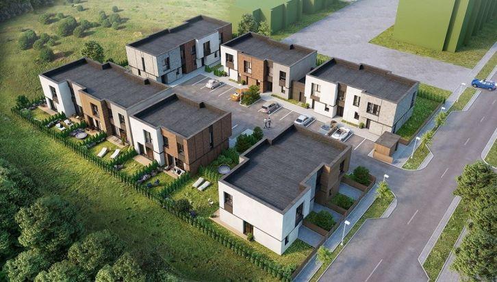 """Į naują kotedžų kvartalą Pilaitėje """"Architekto"""" – 1,5 mln. eurų investicija"""