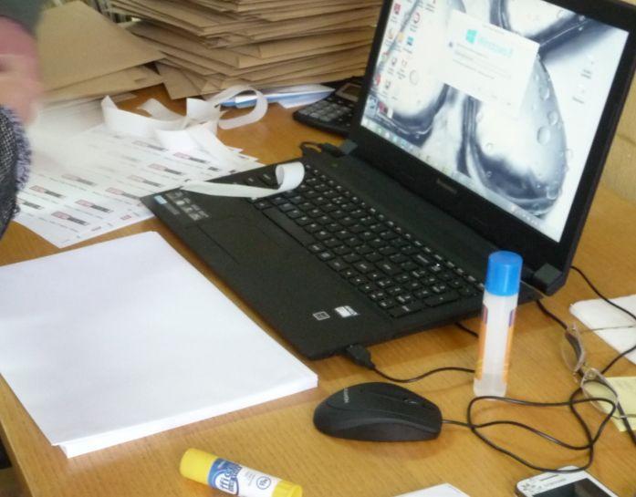 dirbti iš namų su raštu)